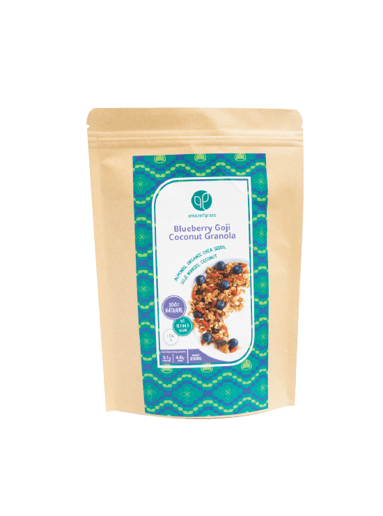 Blueberry Goji Coconut Granola