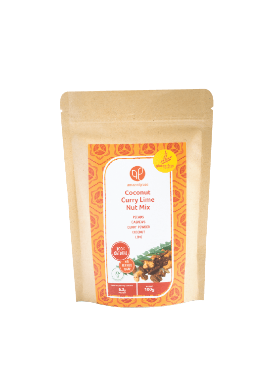 Coconut Curry Lime Nut Mix