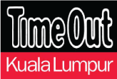 Black, white and red Time Out Kuala Lumpur Logo