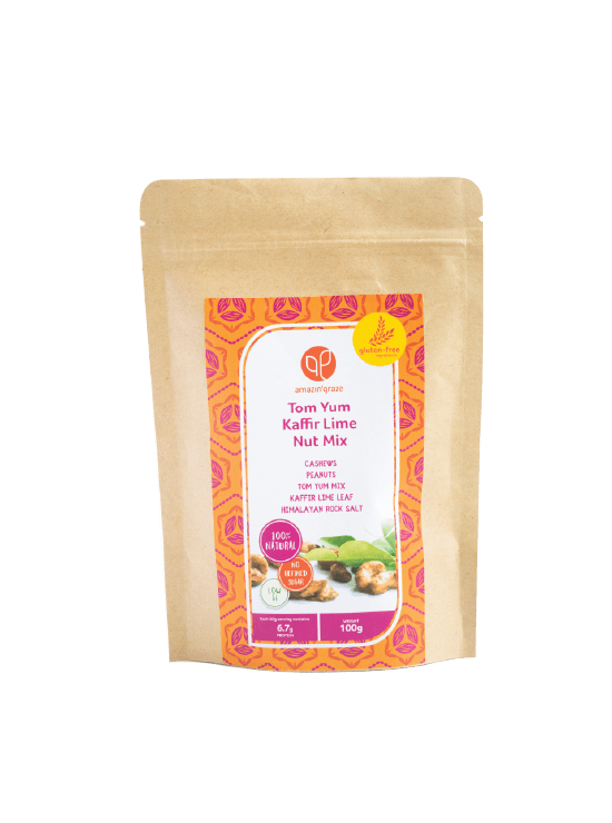 Tom Yum Kaffir Lime Nut Mix