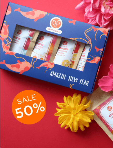 Mini Gift Box: Strength with 50% off messaging